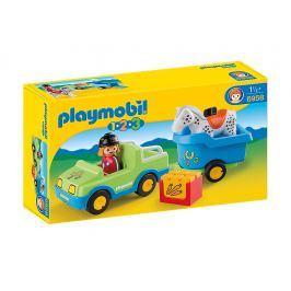 Playmobil 6958 Auto s konským prívesom