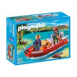 Playmobil 5559 Nafukovací čln s pytliakmi