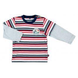 MMDadak Chlapčenské pruhované tričko - farebné