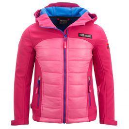 Trollkids Detská softshellová bunda Lysefjordom - ružová