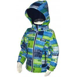 PIDILIDI Chlapčenská funkčná softshellová bunda - modrozelená