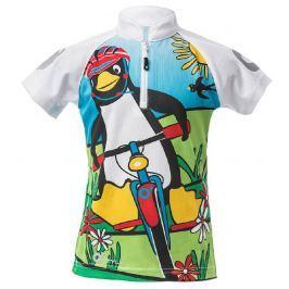O'Style Detské cyklotriko s tučniakom - farebné