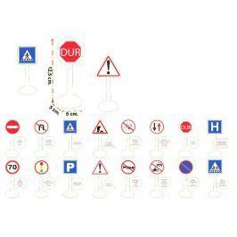 Pilsan Dopravné značky luxusné - 16 ks