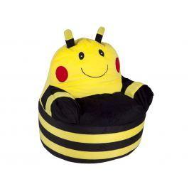 BabyGO Detské kresielko Včelička - žlté