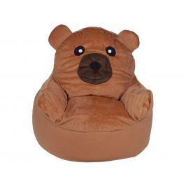 BabyGO Detské kresielko Medveď - hnedé