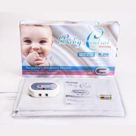 Baby Control Digital BC-210 - s dvoma senzorovými podložkami