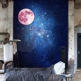 MaDéco Nástenná svietiaca samolepka Mesiac