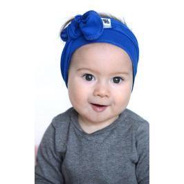 Lamama Dievčenské čelenka - modrá