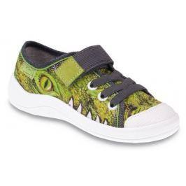 d9272c673f Detail · Befado Chlapčenské tenisky s krokodílom Tim - zelené