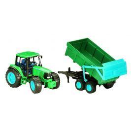 Bruder Farmer - John Deere 6920 traktor s vyklápacím prívesom 1:16