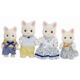 Sylvanian Families Rodina hodvábnych mačiek