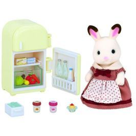"""Sylvanian Families Nábytok """"chocolate"""" králikov - mamka u chladničky"""