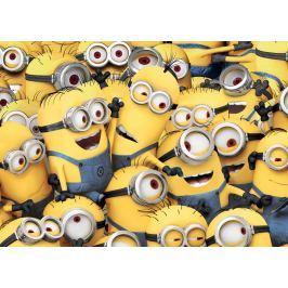 Vopi Detský koberec Mimoni, 133x95 cm - žltý