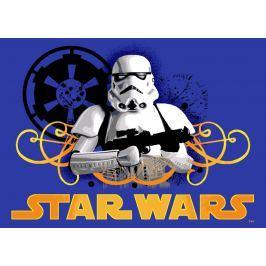 Vopi Detský koberec Star Wars Storm Trooper, 133x95 cm - modrý