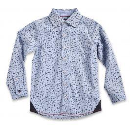 Blue Seven Chlapčenská košeľa s náradím - svetlo modrá