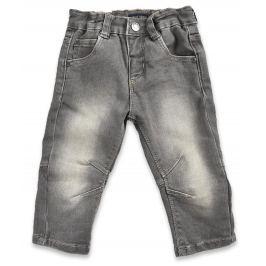 Blue Seven Chlapčenské džínsové nohavice - šedé