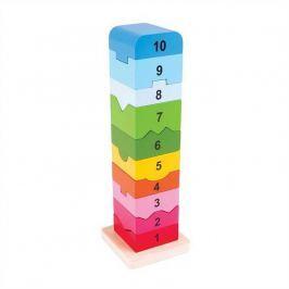 Bigjigs Veža s anglickými číslami