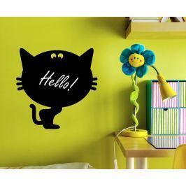 Ambiance Dekoračné samolepky - na písanie kriedou, mačička