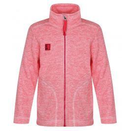 LOAP Dievčenský sveter Krispin - ružový