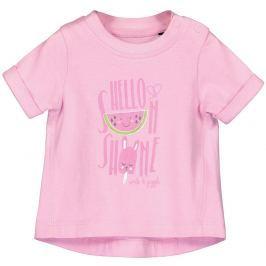 Blue Seven Dievčenské tričko s melónom - ružové