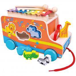 Mertens Auto vkladačka s xylofónom