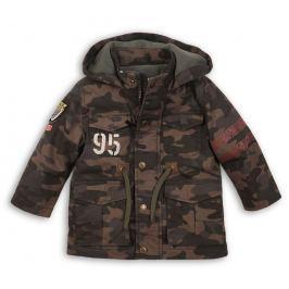 Minoti Chlapčenský maskáčový kabát Tiger - hnedý