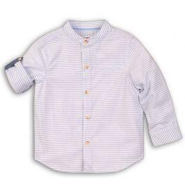 Minoti Chlapčenská pruhovaná košeľa Desert - biela