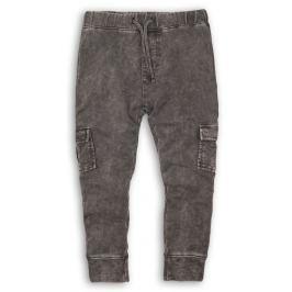 Minoti Chlapčenské nohavice Luxe - šedé