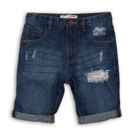 Minoti Chlapčenské džínsové kraťasy Blues - modré