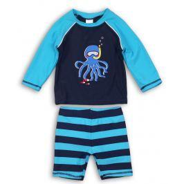 Minoti Chlapčenský plavkový komplet Octopus - modrý