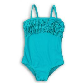 Minoti Dievčenské plavky Swim - tyrkysové