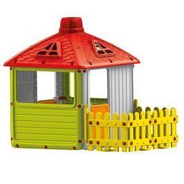 DOLU Veľký záhradný domček s plotom