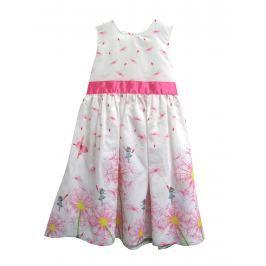 Topo Dievčenské šaty s jarnými motívmi - farebné
