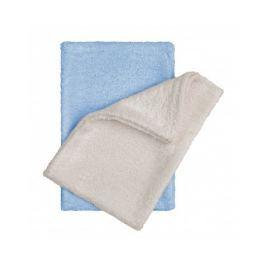 T-tomi Bambusové žinky - rukavice, natur + blue / natur + modrá