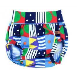 Lamama Detské nohavičky na plienku Loca - modré
