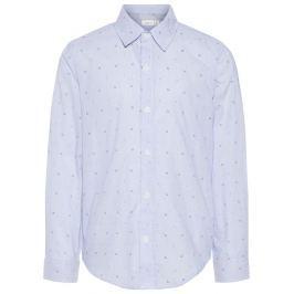 Name it Chlapčenská košeľa s kotvičkami - svetlo modrá