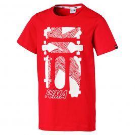 Puma Chlapčenské tričko Skate - červené
