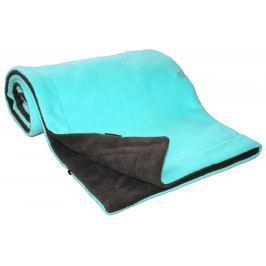 Emitex Deka 70x100 fleece - antracit + aqua
