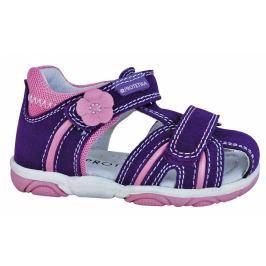 Protetika Dievčenské sandále Talisa - fialové