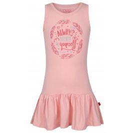 LOAP Dievčenské športové šaty Itilina - ružové