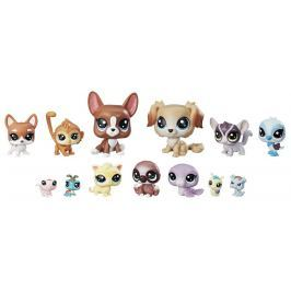 Littlest Pet Shop Veľké balenie zvieratiek - Mischief Pals