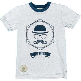 MMDadak Chlapčenské tričko Young Hippster - modré