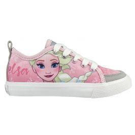 Disney Brand Dievčenské tenisky Frozen - ružové