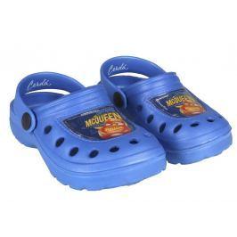 Disney Brand Chlapčenské gumové sandále Cars - modré