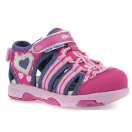 Geox Dievčenské sandále Multy - ružovo-modré