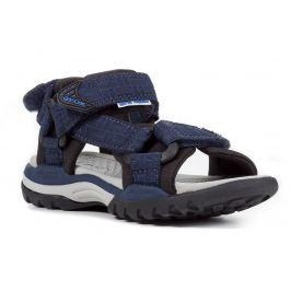 Geox Chlapčenské sandále Borealis - modré