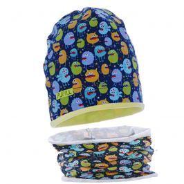 Pupill Chlapčenský komplet čiapky a nákrčníka Jose - farebný