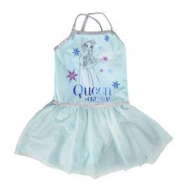 Disney Brand Dievčenské šaty Frozen - svetlo modré