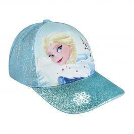Disney Brand Dievčenské šiltovka Frozen - modrá