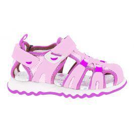 Canguro Dievčenské sandále - ružové